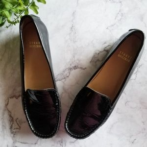 Stuart Weitzman | Mach1 Black Patent Loafers